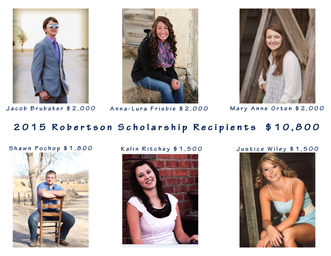 fb2015 Scholarship Recipients
